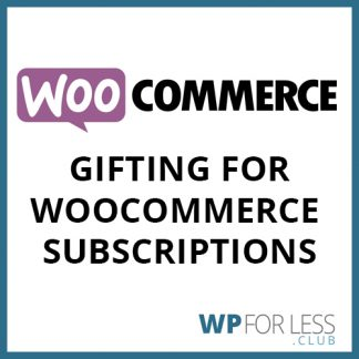 gifting for woocommerce subscriptions GPL Club Plugin