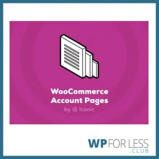woocommerce account pages GPL Club Plugin
